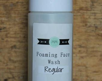 Foaming Face Wash for Regular/Sensitive Skin