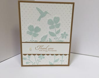 Wildflower Meadow Thank You Card