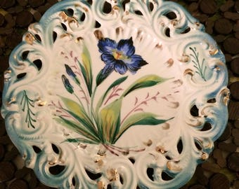 Italian Hand-Painted Decorative Plate Made in Italy
