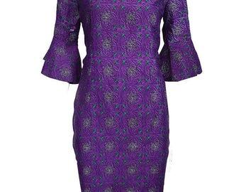 Kome Dress - Purple