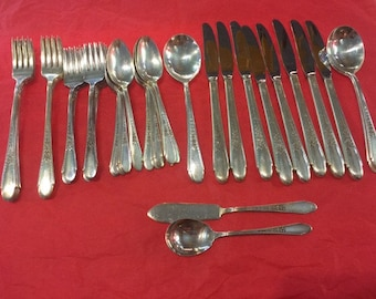 Set of Wm. Rogers and Son Flatware - stainless
