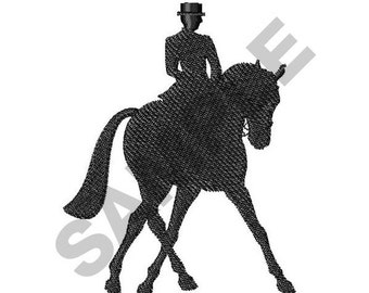 Horse And Rider - Machine Embroidery Design