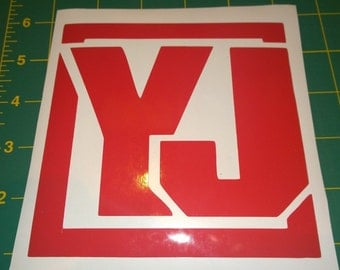 Jeep Wrangler YJ - Vinyl Decal for Jeep