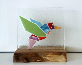 decorative, origami bird