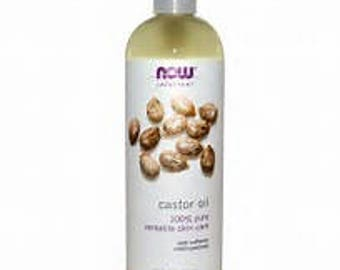 now® solutions - castor oil - 16 fl. oz (473 ml)