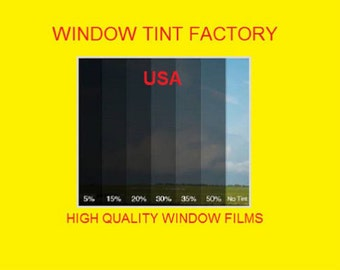 "professional window tint Film  by the roll 5%  20"" 24"" 30"" 36"" 40"" 60"" x 10 feet"