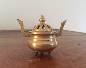 Small Brass Incense Burner