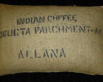 """Pillowcase original coffee bag cushion """"Monica"""", 60 x 40 cm"""