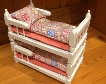 dolls house bedding set