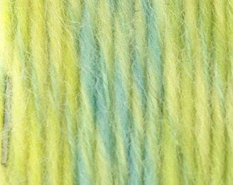 Wool Mohair Yarn 2 x  100g/Skeins Color: Summer Lemonade(Yellow Green)