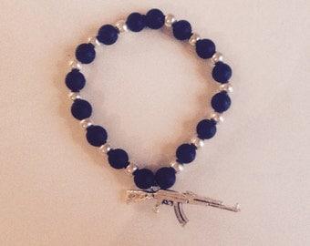 Ak47 bracelet matte black