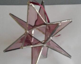 Lavender medium moravian star