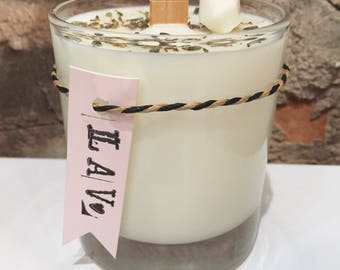 Lavender Wood Wick Candle