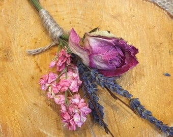 Country Garden Buttonhole