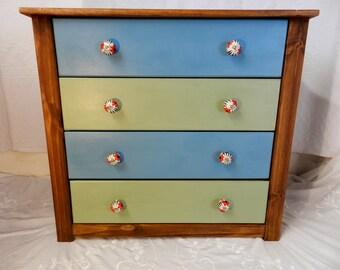 Beautiful bespoke 4 drawer chest