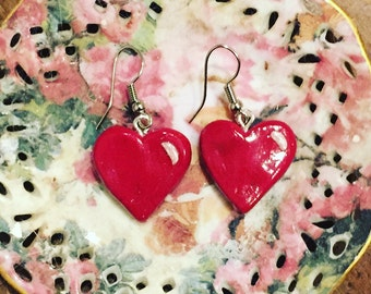 I Heart You Valentine's Earrings