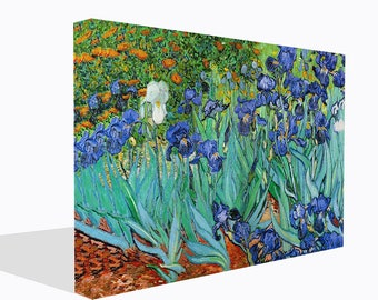 Van Gogh Reproduction Canvas Print Irises  Ready To Hang