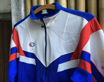 90s Champion U.S.A Track Jacket