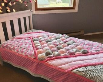 Baby Quilt Bedding Set Toddler Quilt Bedding Set Puff Quilt Comforter Girl