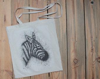 """Zebra"" bag"