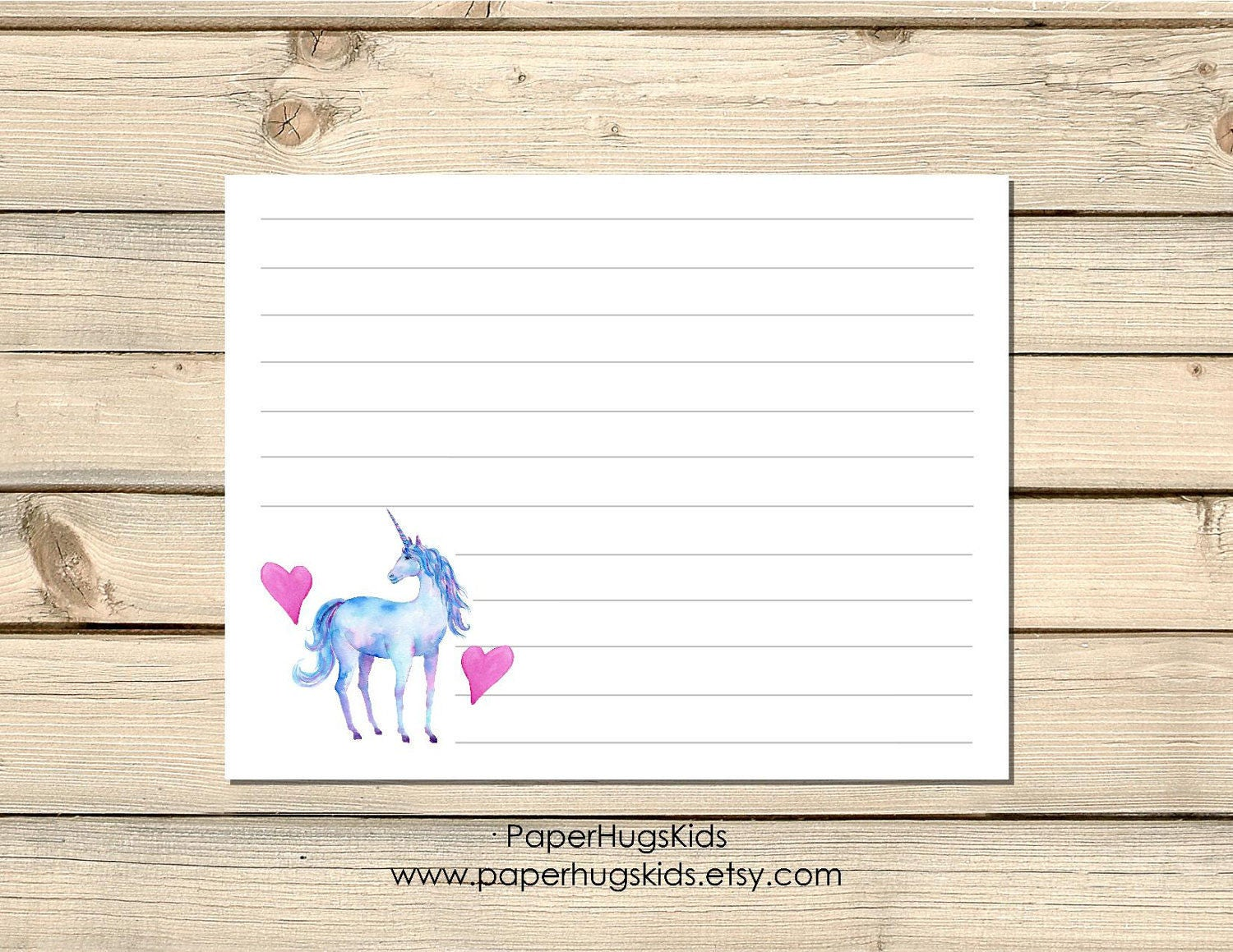 printable unicorn stationery unicorn note cards kids thank you cards personalized stationery - Printable Note Cards