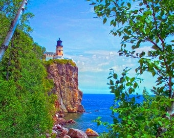 Split Rock Lighthouse - Canvas Gallery Wrap