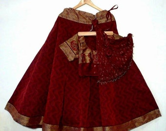South Indian style Gopi Skirt