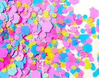"Glitter Mix ""Confetti"" / Nail Art / Acrylic / Gel"