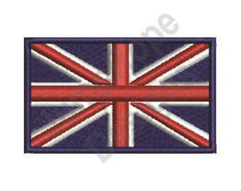 British Flag - Machine Embroidery Design