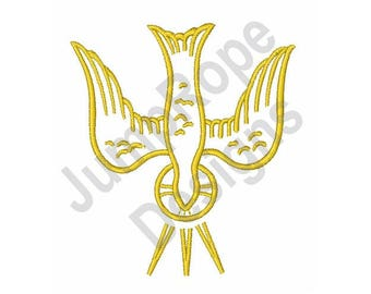 Holy Spirit Dove - Machine Embroidery Design