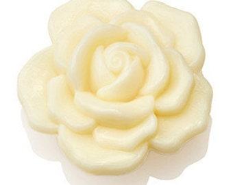 All Natural Flower Shaped Organic Bar Soap
