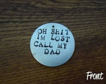 Call My Dad Pet ID Tag