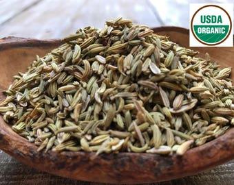 ORGANIC FENNEL SEED, Fennel Tea, Licorice Seeds, Whole Fennel Seeds