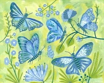 Papillons (print)