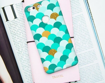 Turquoise scale case for Google Pixel Case, Mermaid case for Google Pixel XL, scale case, google pixel xl case, green scale case,