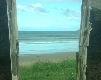 Driftwood mirror.  Glens of Antrim.  Bespoke mirror.   Game of Thrones