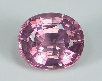 GIA Certified Absolutely Superb 100% Natural Neon Pink Spinel Mogok Oval 2.41 ct Rare