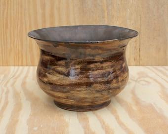 Rustic/Metallic Ceramic Bowl