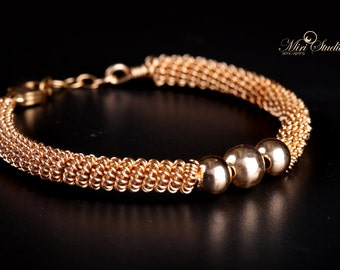 Elegant Gold Filled Bracelet