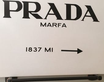 Prada Marfa Canvas
