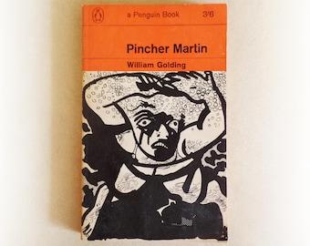 William Golding - Pincher Martin - Penguin vintage paperback book - 1964