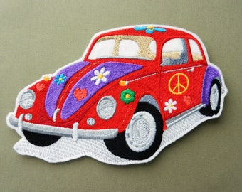vw bug applique etsy. Black Bedroom Furniture Sets. Home Design Ideas