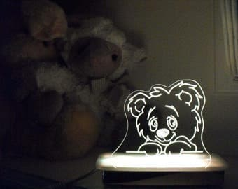 Cuddles the Teddy Bear Night Light