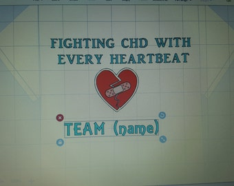 CHD shirts customize name, and colors
