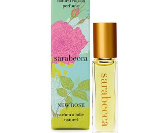Sarabecca New Rose Natural Perfume Roll-On 7.5 ml