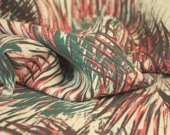 Palm Leaf Impression Print