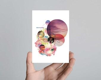 Secret Happiness Postcard Print Art
