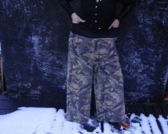 CAMOUFLAGE  LIGHTWEIGHT PANTS