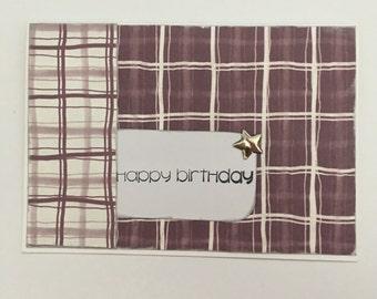 Handmade Card - Happy Birthday (HB17)