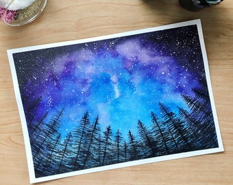 Night Sky - Print